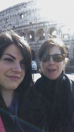 out and about in Rome