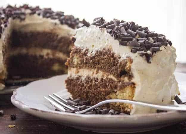 Tira mi su,a homemade classic Italian dessert recipe. Made with a delicious sponge cake layered with a creamy amazing filling.