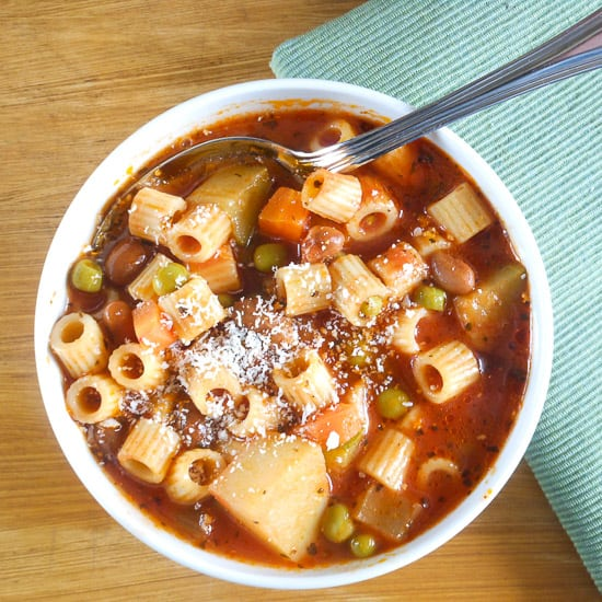 minestrone / An Italian in my kitchen