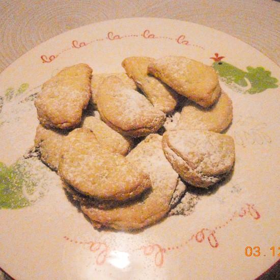 Raniero's cookies with nutella