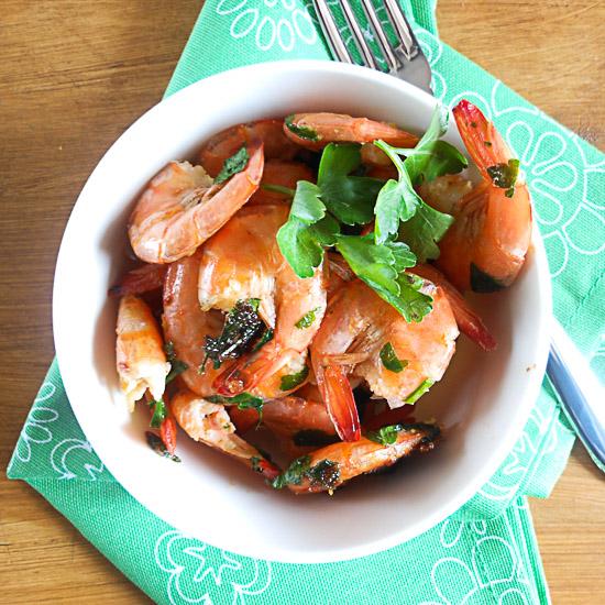 sauteed shrimp/anitalianinmykitchen.com