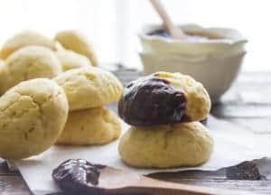 Brown Sugar Cookies, an easy, delicious thick soft cookie recipe. Perfect plain or drizzled with chocolate. A yummy sweet treat.