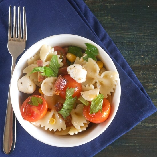 summer pasta salad / An Italian in my kitchen