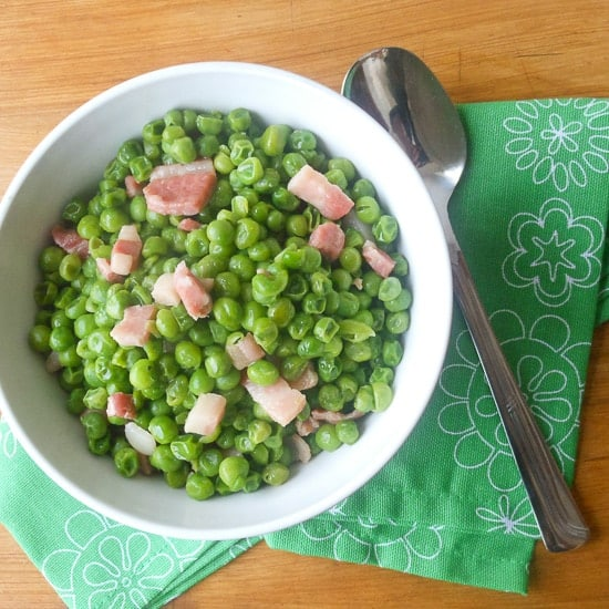 peas and pancetta 4
