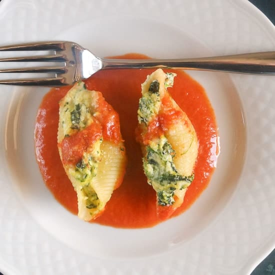 stuffed pasta shells_
