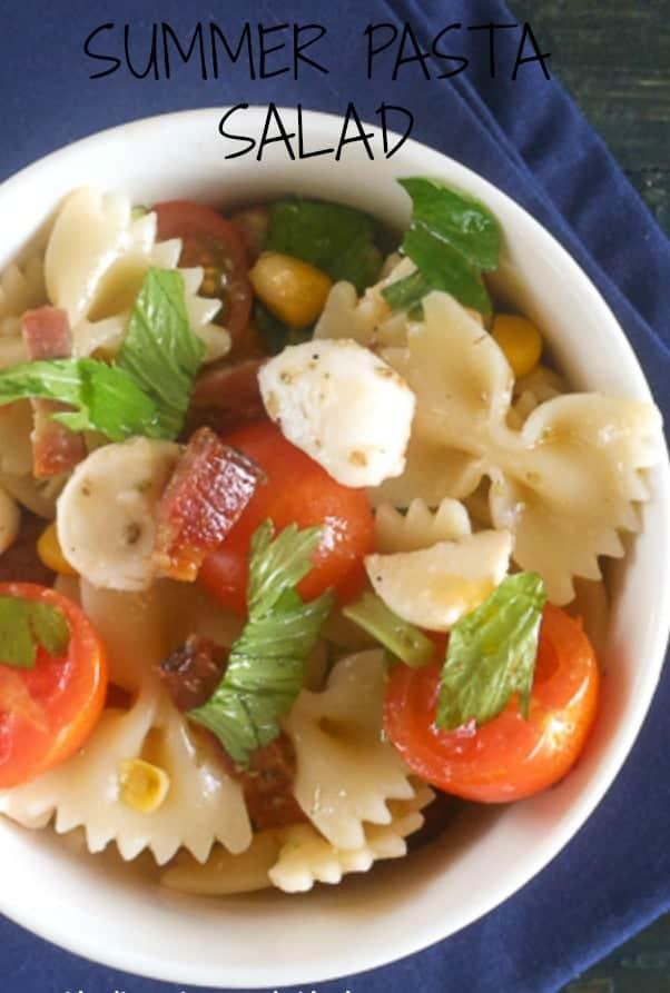 summer pasta salad/anitalianinmykitchen.com
