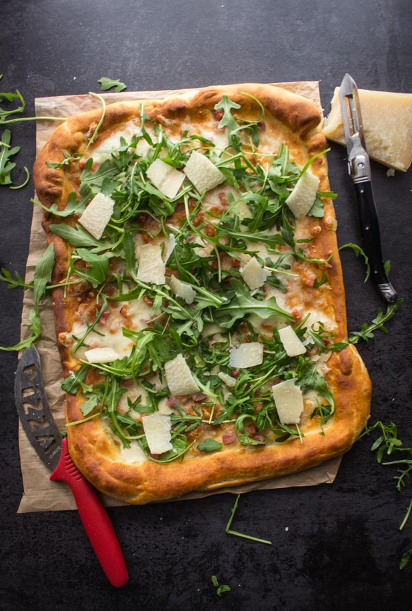Italian Pizza Bianca Best Easy White Pizza - You won't miss the Sauce