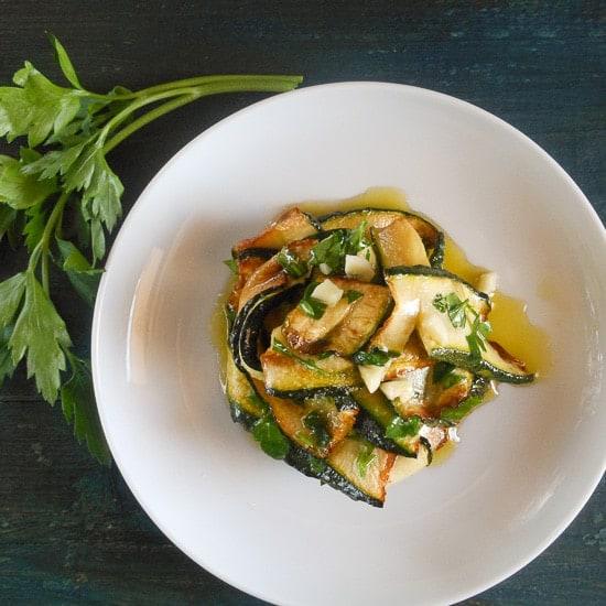 Zucchine marinara