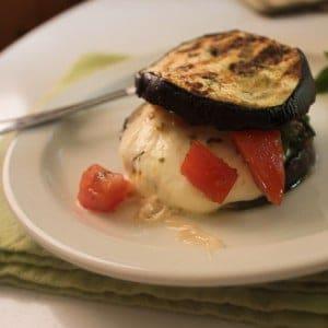 eggplant mozzarella sandwich