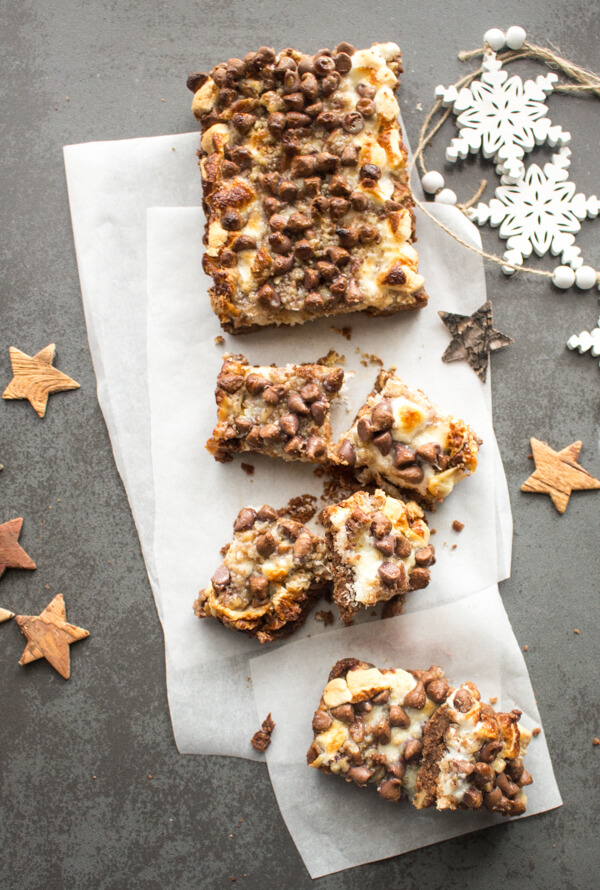 Ultimate Rocky Road Nut Bars