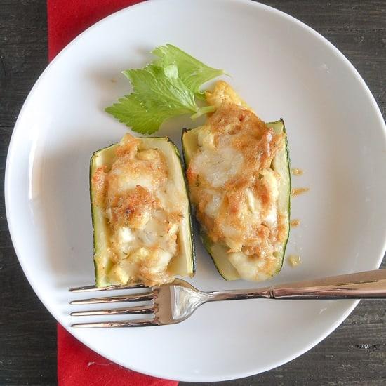 zucchini stuffed with tuna / An Italian in my kitchen