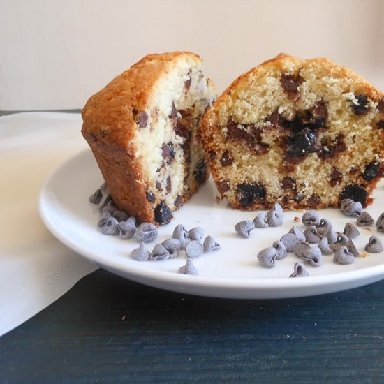 blueberry chocolate chip muffins..