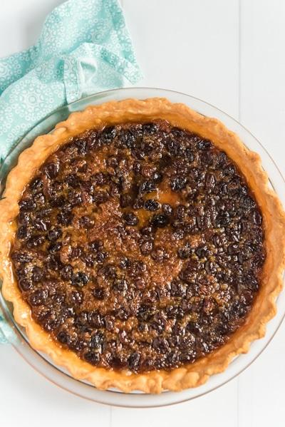 the baking pie