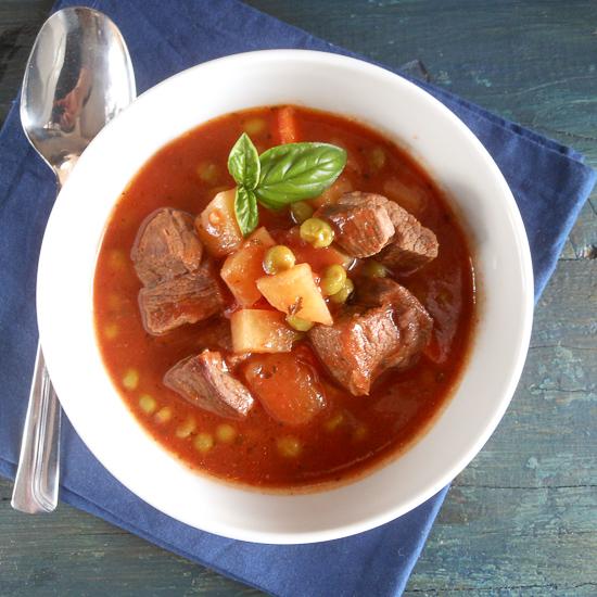 Italian beef stew by An Italian in my kitchen