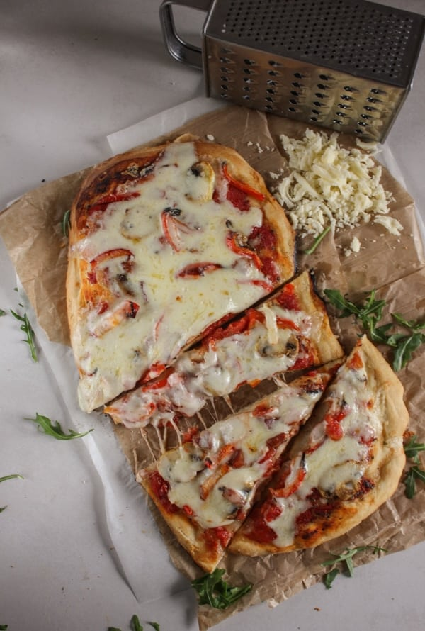 Best Pizza Dough, an easy, homemade pizza dough recipe that will become your favorite go to for pizza night. Thick or thin crust you decide.|anitalianinmykitchen.com