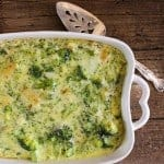 broccoli cheese bake / anitalianinmykitchen.com