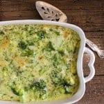 broccoli cheese bake / anitalianinmykitchen.com