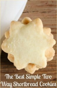 upclose photo of star shaped shortbread cookies