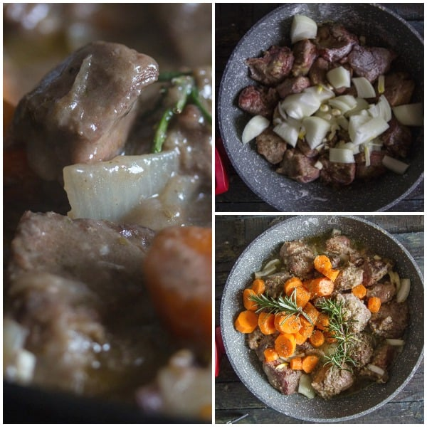 beef white wine how to make beef with onion, beef with carrots, beef cooked