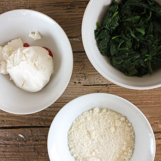 how to make store bought ricotta creamy