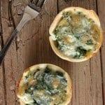 ricotta spinach tarts /anitalianinmykitchen.com
