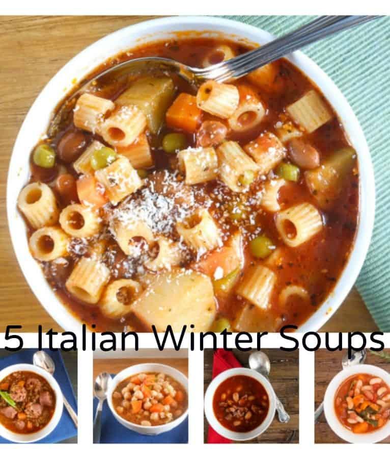 5 Italian winter soups/anitalianinmykitchen.com