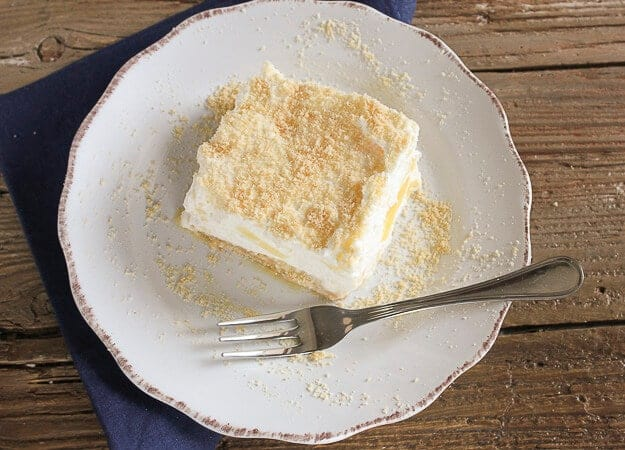 Pineapple Cream Dessert