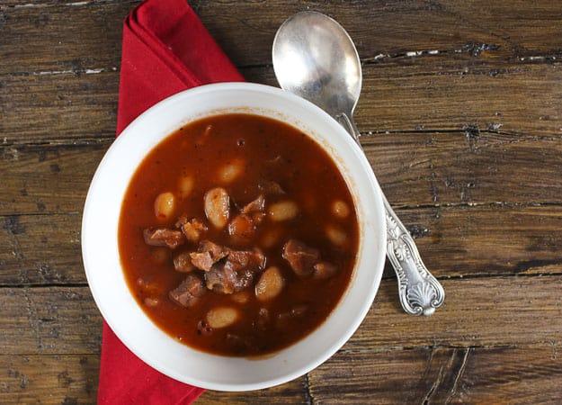 prosciutto and bean soup /anitalianinmykitchen.com