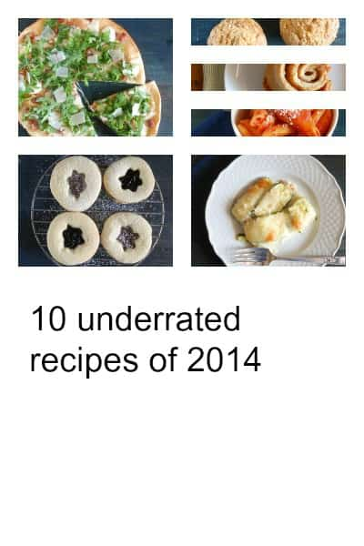 10 Underrated Recipes of 2014