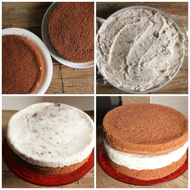 A delicious easy homemade Nutella Kit Kat Oreo Ice Cream Cake recipe, the perfect birthday or anytime Cake. Your new favourite.