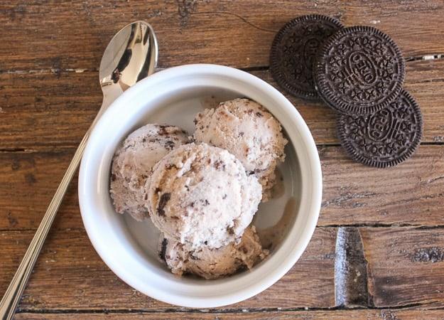 nutello oreo ice cream gelato