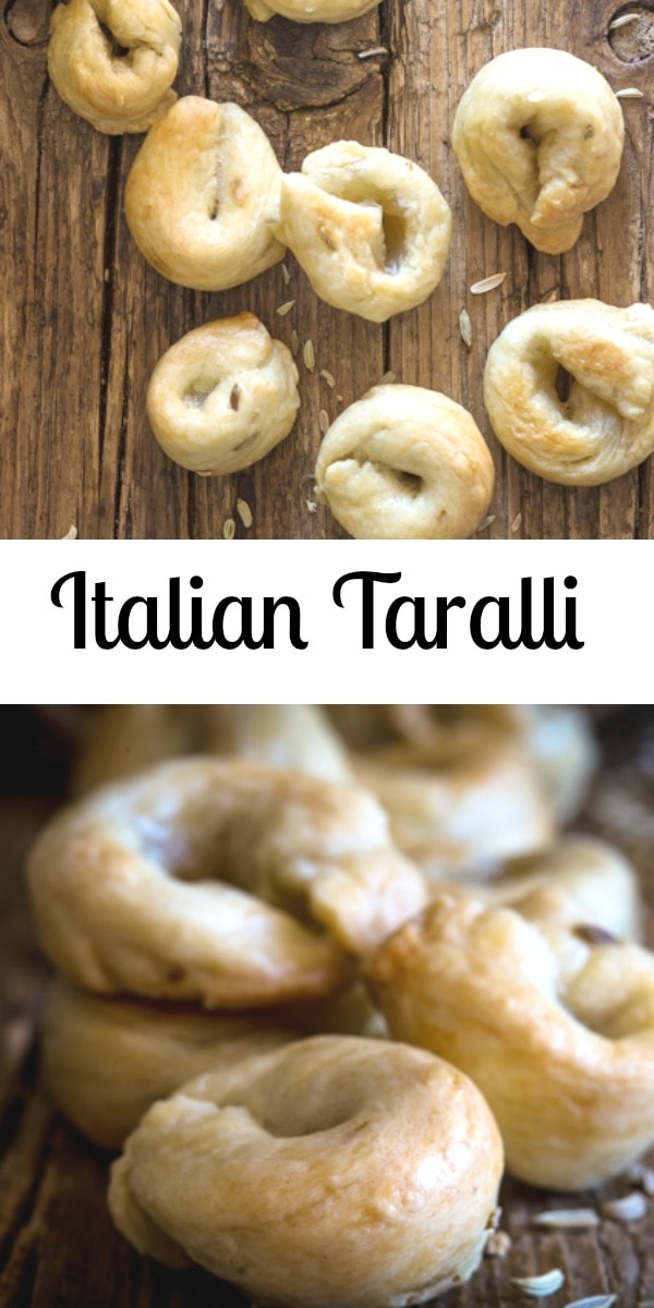 Italian Taralli, what is it? Almost like a cracker, bread stick and pretzel all rolled into one, but better. Totally addicting. #taralli #Italianrecipe #cracker #appetizer
