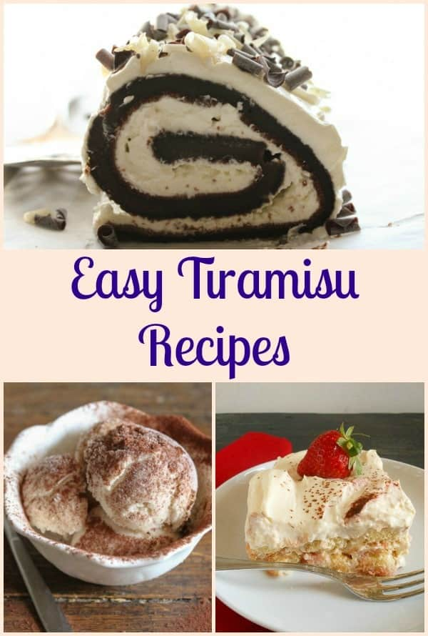 Looking for some Easy Tiramisu Recipes, look no further. From kid friendly, to Strawberry to the Classic Italian and everything in between.