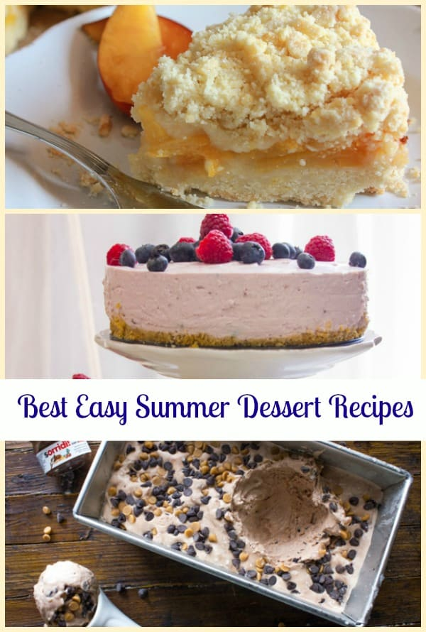 best easy summer dessert recipes
