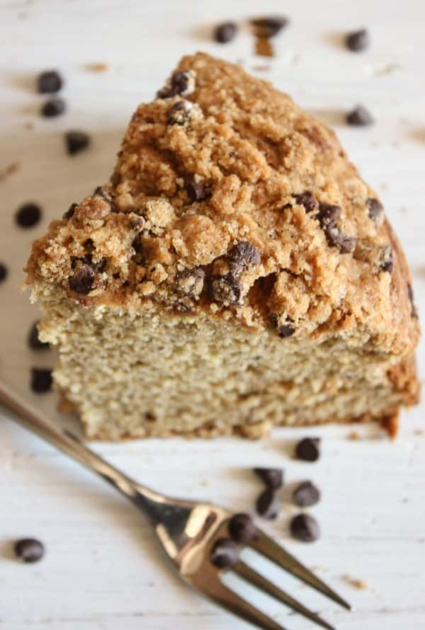 Banana Crumb Cake With Chocolate Chips