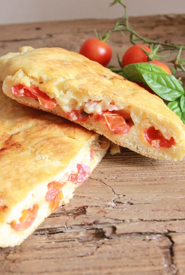stove top pizza and calzone no need to heat the house with this easy