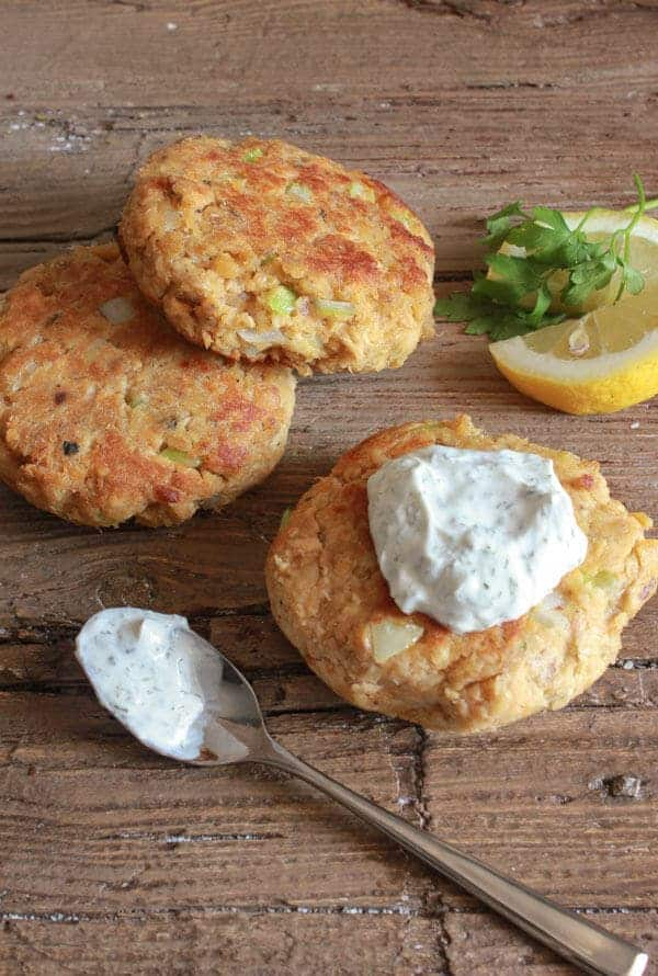 ... , especially when served with a little Greek Yogurt Dill Sauce