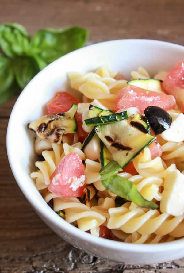 Italian Pasta Salad with Fresh Summer Vegetables