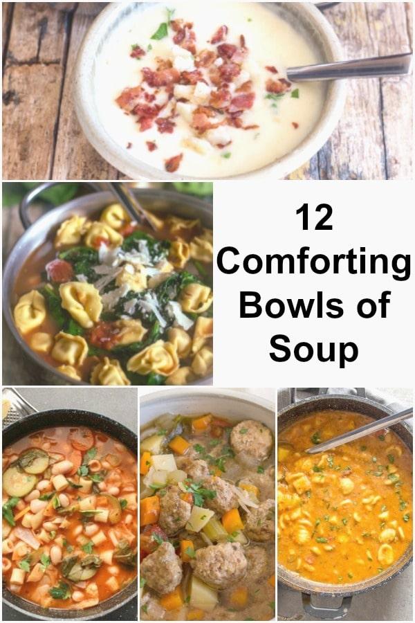 12 comforting soups