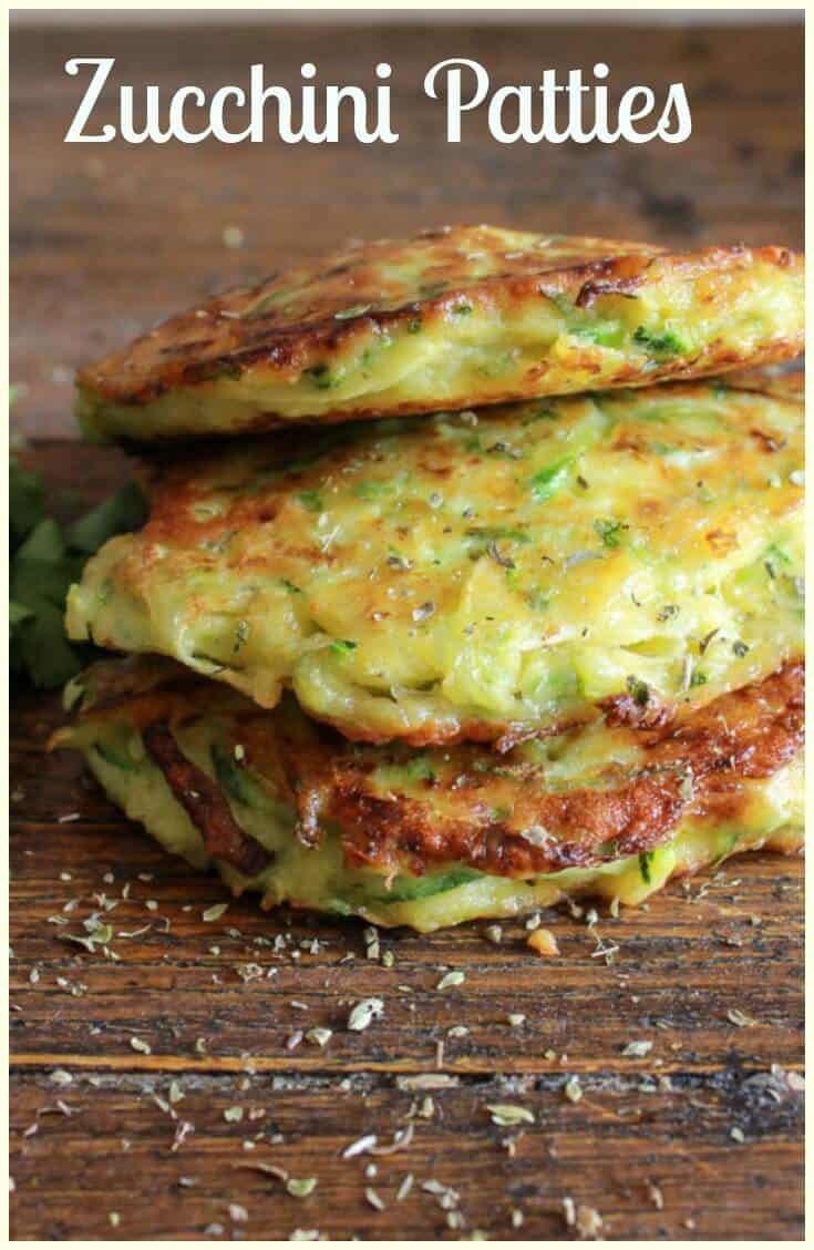 Zucchini Patties, a delicious, healthy, easy recipe, the perfect side dish, appetizer or even main dish, a yummy way to add some veggies!