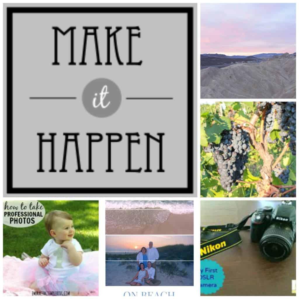 Make it happen photography