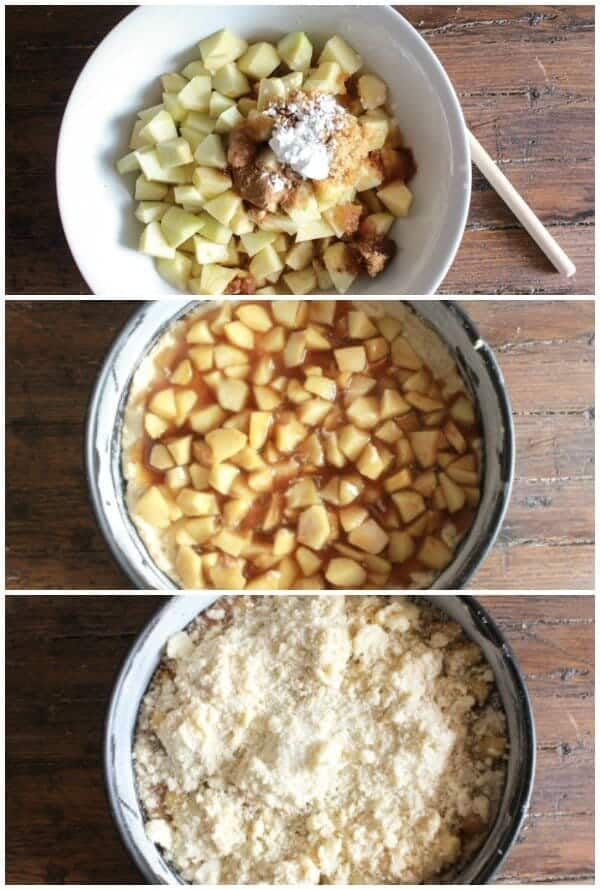 Apple Pie Streusel Cake, an easy and delicious cake, let the wonderful scent of cinnamon and apple fill your home, the cake is even better!