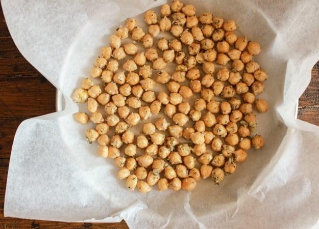 Italian roasted chickpeas