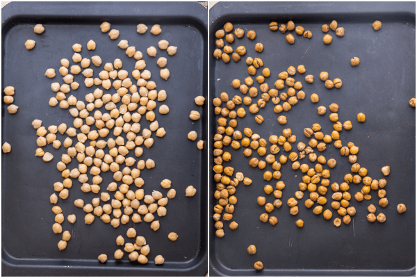roasted chickpeas how to make before roasted and after
