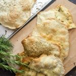 Thin Crispy Focaccia, an easy, crunchy Italian recipe, sprinkle it with your favorite seasonings. A perfect accompaniment to soup, stews.