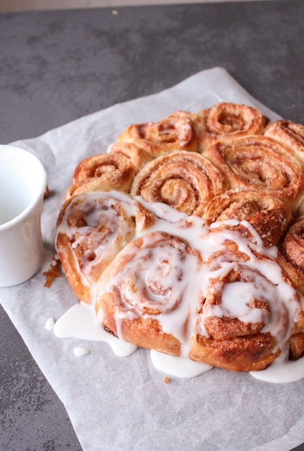 Homemade Cinnamon Buns, easy soft delicious cinnamon buns, the perfect ...