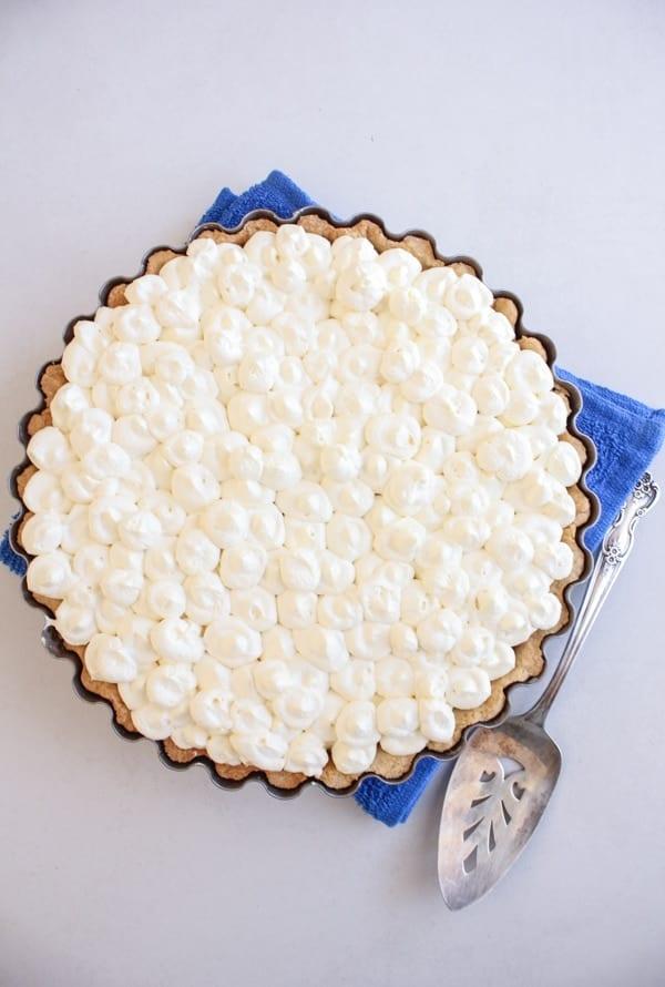 Tiramisu Pie, an easy authentic Italian Tiramisu dessert recipe. this classic dessert can be made with or without eggs. A family favorite dessert. anitalianinmykitchen.com