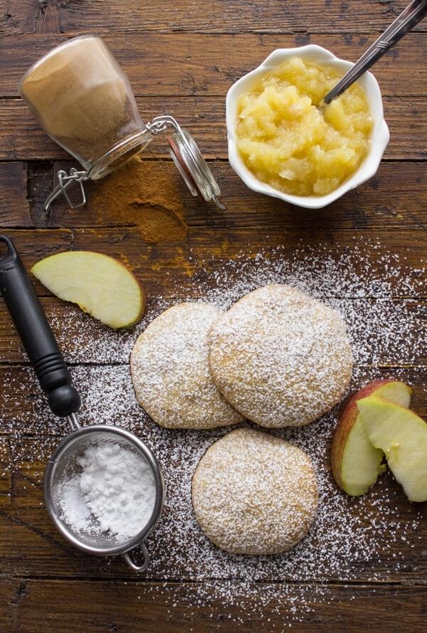 Cinnamon Applesauce Cookies