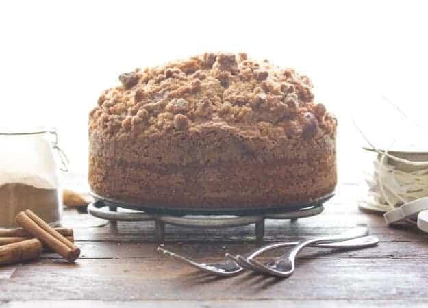 Big Crumb Coffee Cake Recipe — Dishmaps