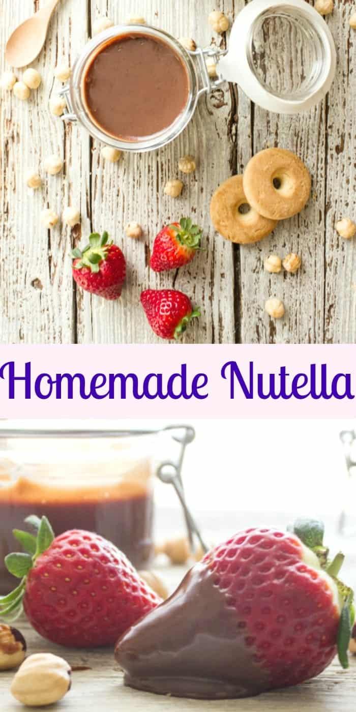 घर का बना नुटेला, एक स्वादिष्ट मलाईदार आसान नुस्खा।  डार्क चॉकलेट, भुना हुआ हेज़लनट्स के साथ बनाया गया, मूल से बेहतर है?  तुम न्याय करो!  |  Anitalianinmykatalog.com